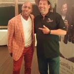 Jeffrey Osborne and Bruno Ceniccola, Owner, Piu Facile Imports.
