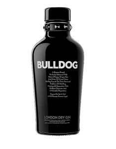 BULLDOG LONDON DRY GIN ICONIC BOTTLE