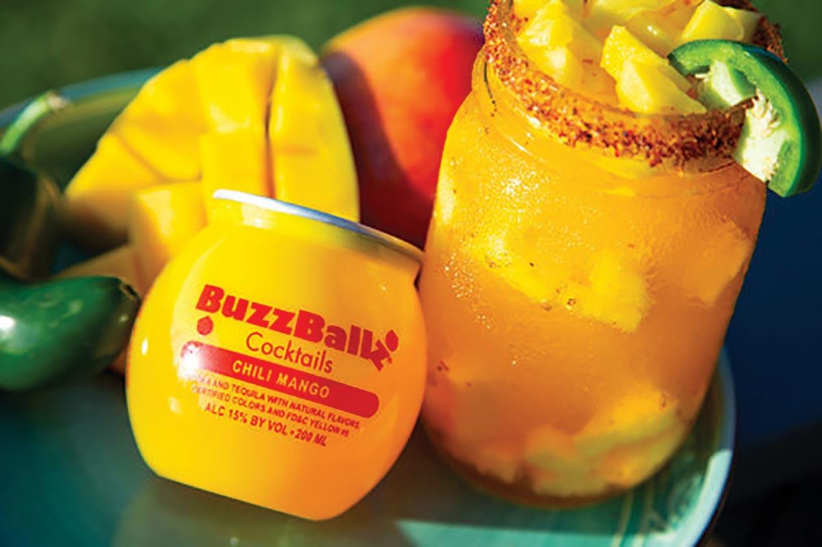 New BuzzBallz Cocktails Chili Mango Joins Lineup