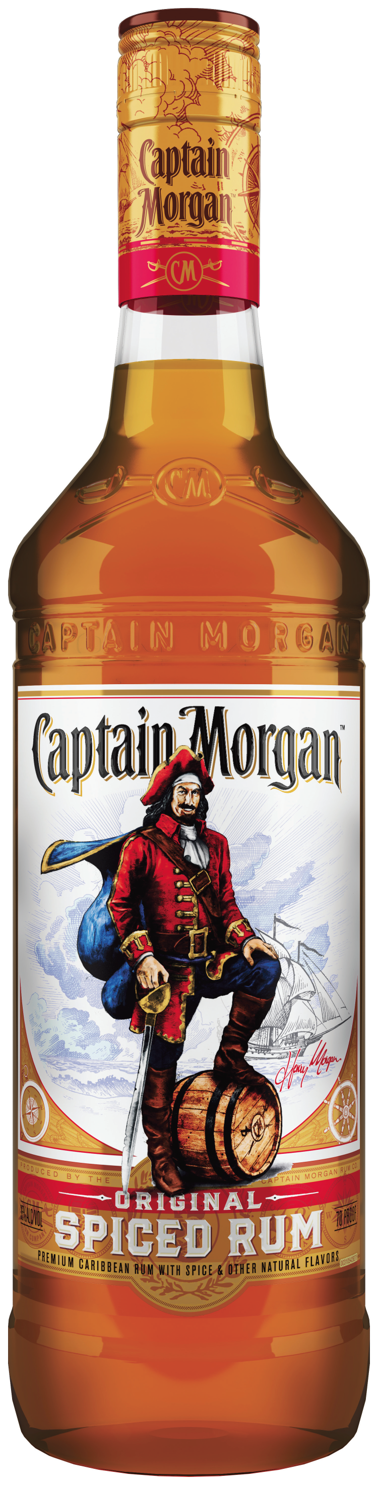 Captain Morgan Rum Releases New Bottle Design