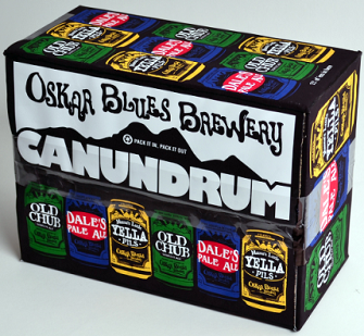 OSKAR BLUES BREWERY LAUNCHES CANUNDRUM MIXED 12-PACK