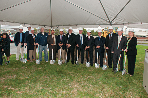 Connecticut Distributors Inc. Breaks Ground for Addition