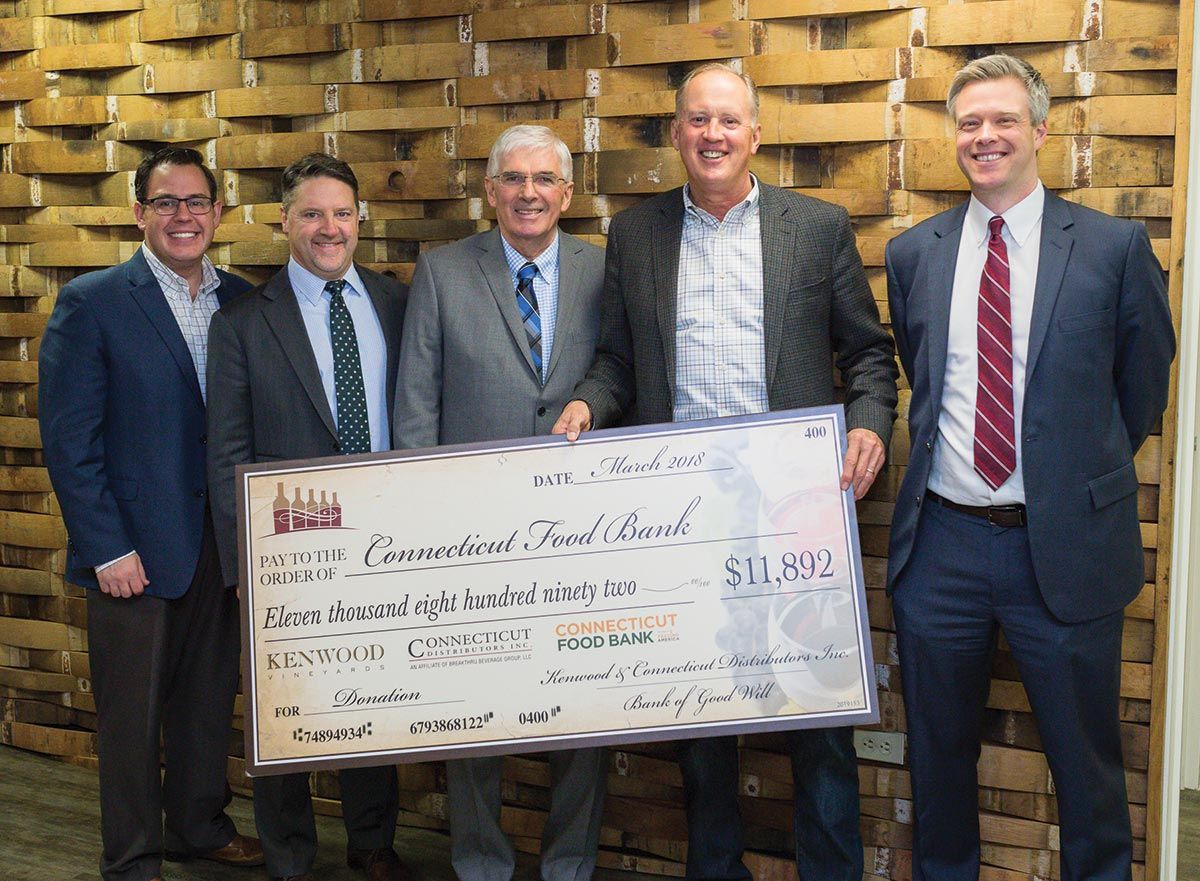 CDI and Kenwood Wines Mark Seventh Annual Food Bank Donation
