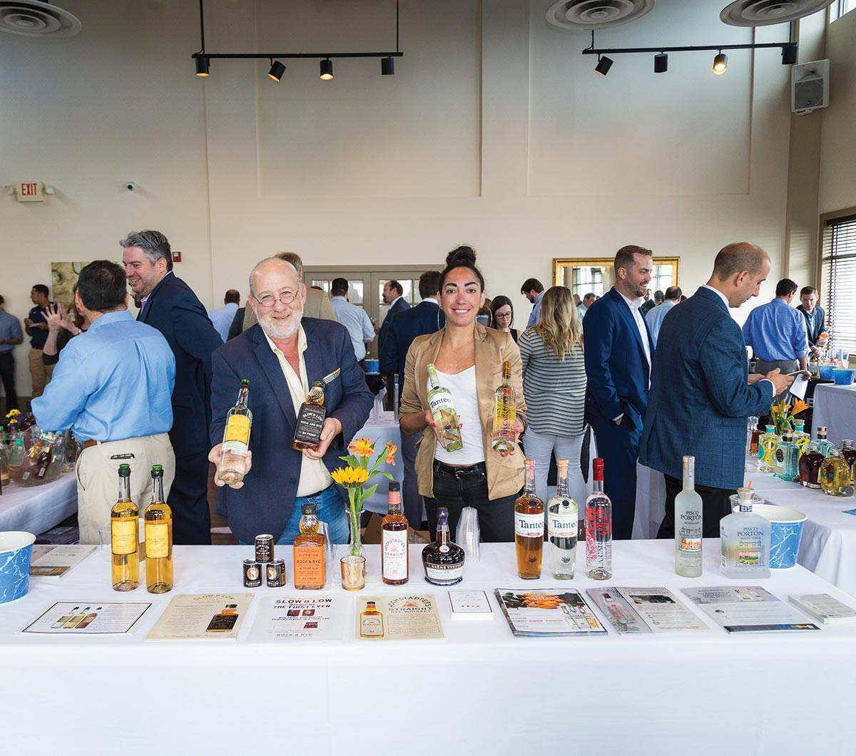 CDI Showcases Newest Division's Spirits and Wines for Team