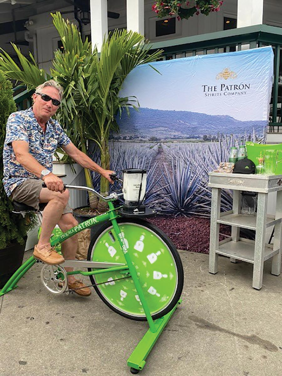 Patrón Tequila Blender Bike Creates Buzz at Venues