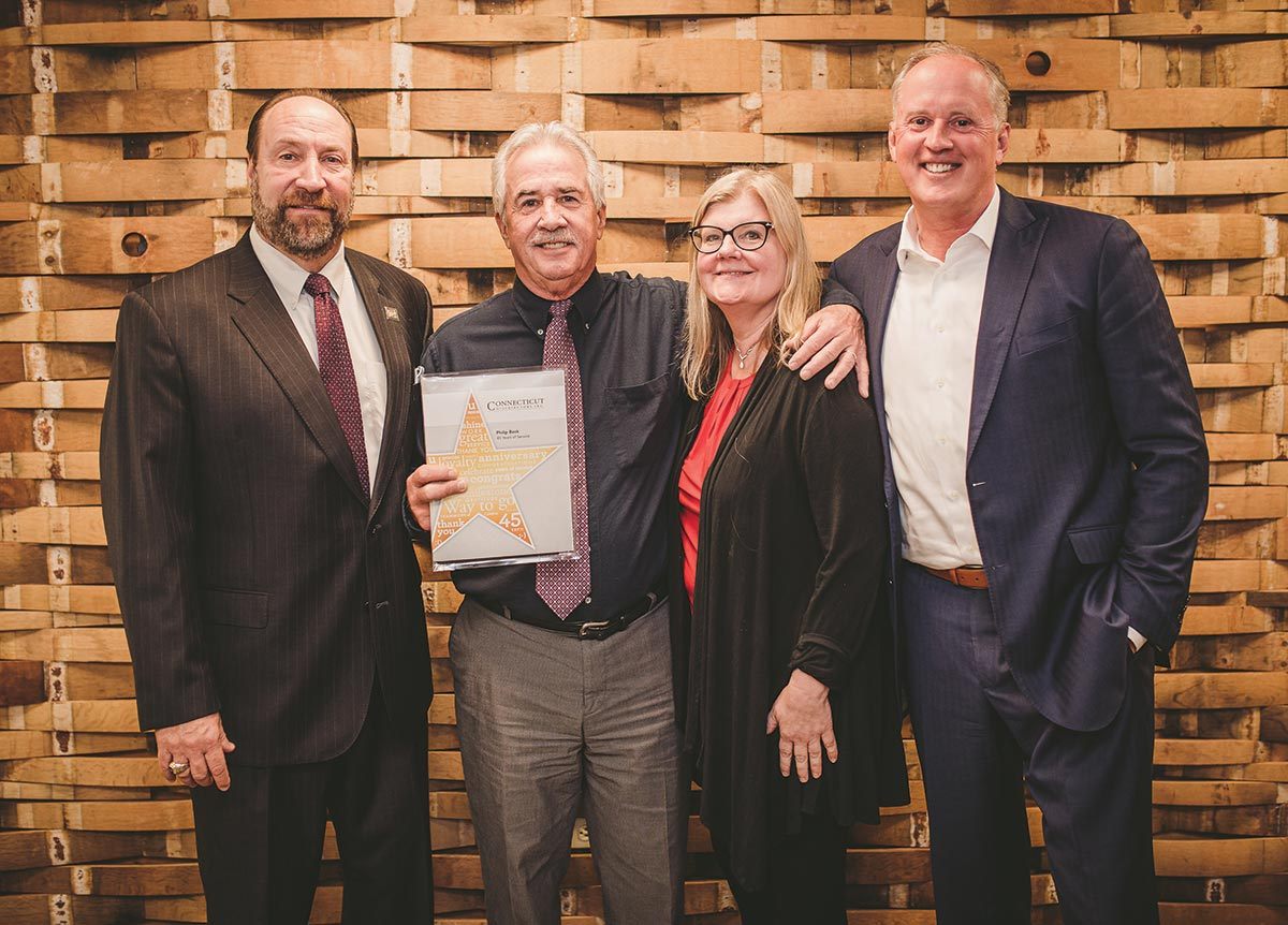45-Year Sales Veteran Honored at Connecticut Distributors, Inc.