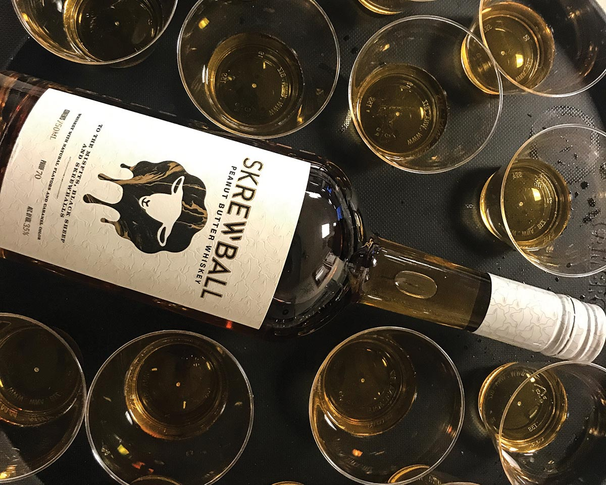Skrewball Peanut Butter Whiskey Comes to Connecticut