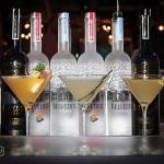 Belvedere martinis.