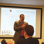 Paul Fede, Regional Manager, NE for Pernod Ricard, presents to CDI sales staff.