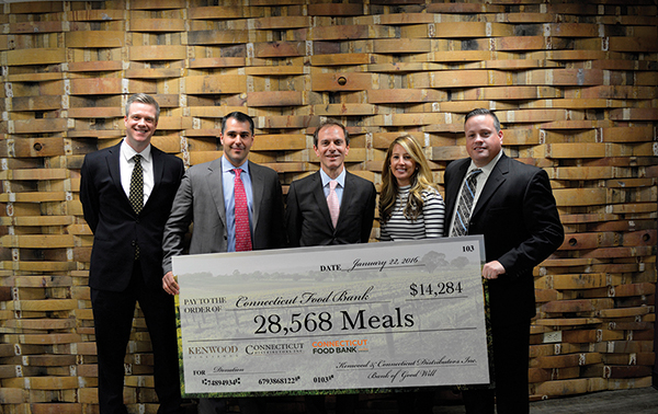 CDI Presents Fundraising Check to Connecticut Food Bank