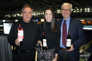 Barry Ibbotson, Regional Manager New England, TGIC Global Fine Wine Company; Danielle Kelly, New England Area Manager and CSW, TGIC Global Fine Wine Company; and Tom Talmadge, Business Manager, CDI.