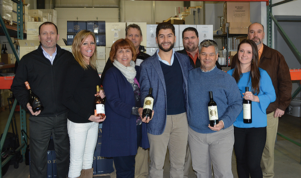 All with Cellar Fine Wines except where indicated: Rich Veilleux, General Manager; Whitney Mitchell Algieri, Sales Rep., New Haven County; Janeen Carabetta, Marketing Manager; Andrew Clas, Sales Rep., Fairfield County; Enrico Chioccioli, Brand Manager, Chioccioli Altadonna Family Estate Wines; Andy Fredericksen, Craft Beer Manager; George Carabetta, Operations Manager; Anna Dziedzik, Sales Rep., Middlesex & Hartford Counties; Jeff Sharp, Sales Rep., Hartford & Litchfield Counties.