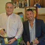 Frank Magnoli, Sales Consultant, Peel Liqueurs with Gianfranco DiDomenico, COO, Peel Liqueurs.