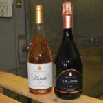 Chioccioli Altadonna Family Estate Wines Rosalto and Ororosa, both rosés.