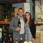 Danny Keefe, President of Sales and Founder, Curious Cork with Anna Dziedzik, Consultant, Cellar Fine Wines.