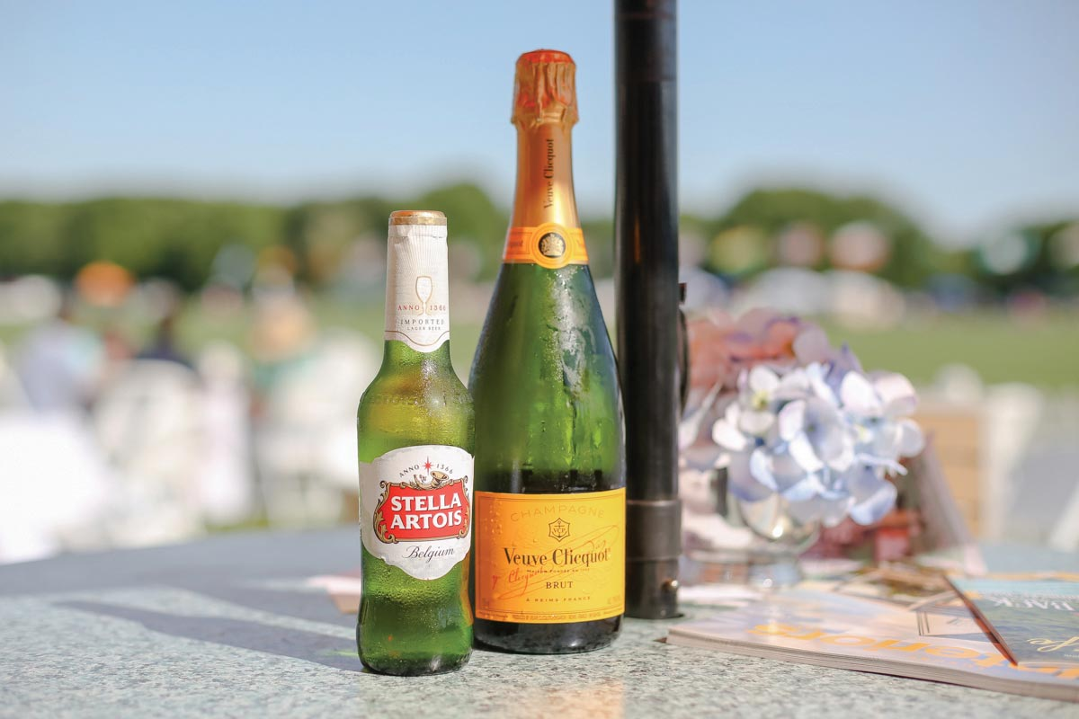 Beverage Brands Showcased During Newport Polo Match