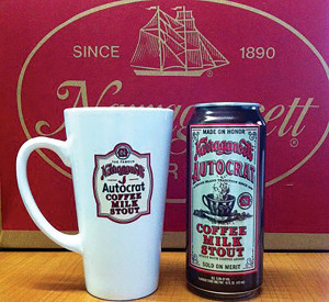 Narragansett Beer releases Autocrat Coffee Milk Stout