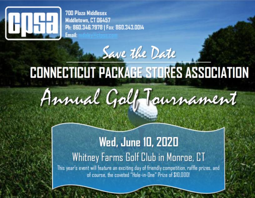 September 16, 2020: CPSA Annual Golf Tournament (NEW DATE)