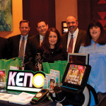 The CT Lottery New Business Department showcased keno during the cocktail hour.