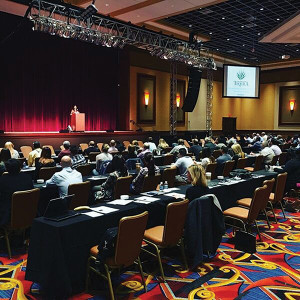 """Trade professionals gathered at Twin River Casino to earn their """"Award T"""" certification in tequila knowledge."""