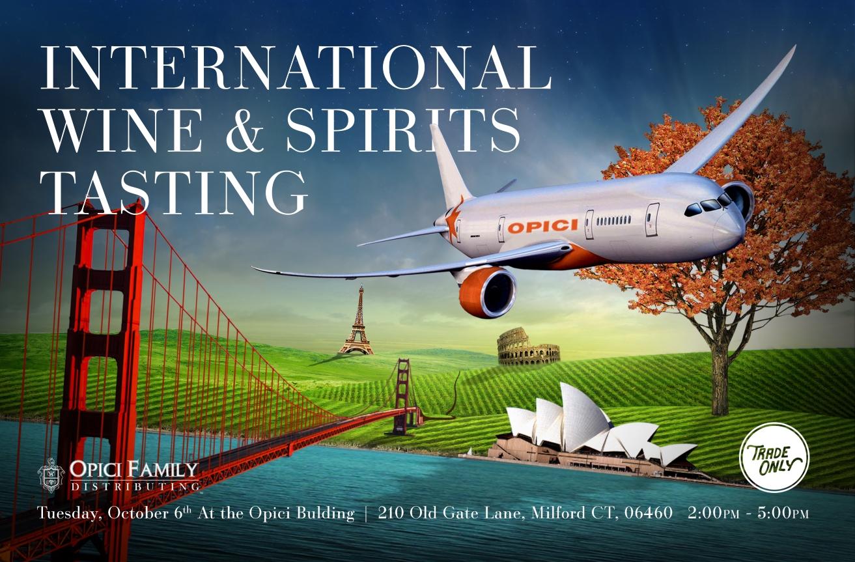 October 6, 2015: Trade Only/Opici International Wine & Spirits Tasting