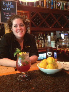 Bar Manager Justine DiMaria