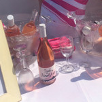Wines showcased on the Latitude Beverage Rosé Cruise.