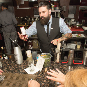 Guest Bartender Dimitrios Zahariadis.