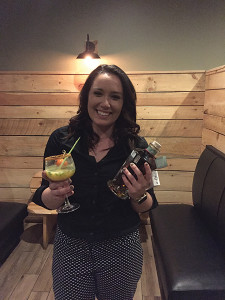 "Bartender Nicole Mailloux won the competition with her cocktail ""Mezcal Maize Runner."""
