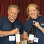 Priam Vineyards' Jim Melillo, General Manager and Gloria Priam, Manager.