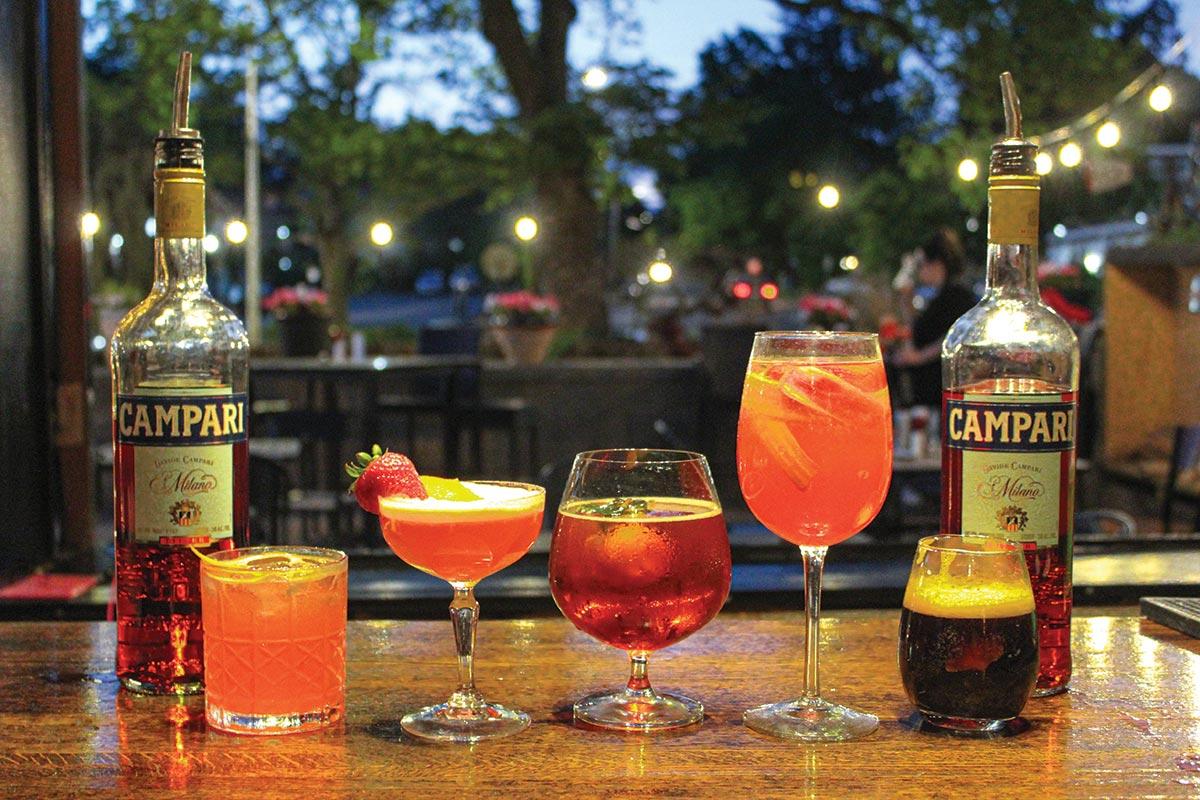 Tisane Hosts Campari Spritz Cocktail Competition