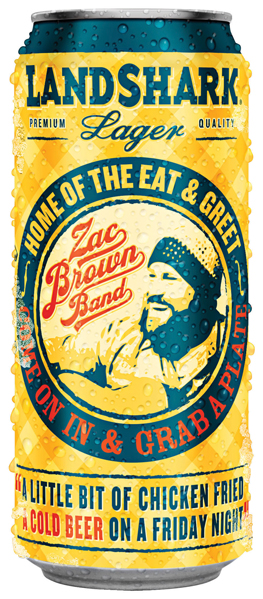LANDSHARK LAGER & ZAC BROWN BAND Offer THREE LIMITED-EDITION CANS