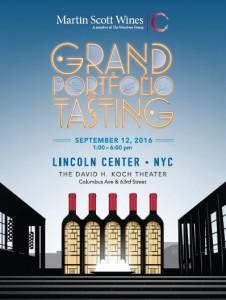 September 12, 2016: Martin Scott Wines Grand Tasting/Trade Only