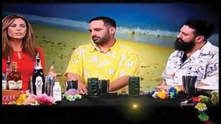 COCKTAIL CHEMISTS APPEAR ON NBC CONNECTICUT