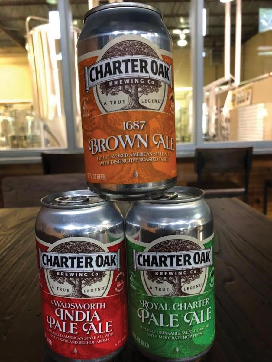 Charter Oak Brewing Makes the Move to Cans