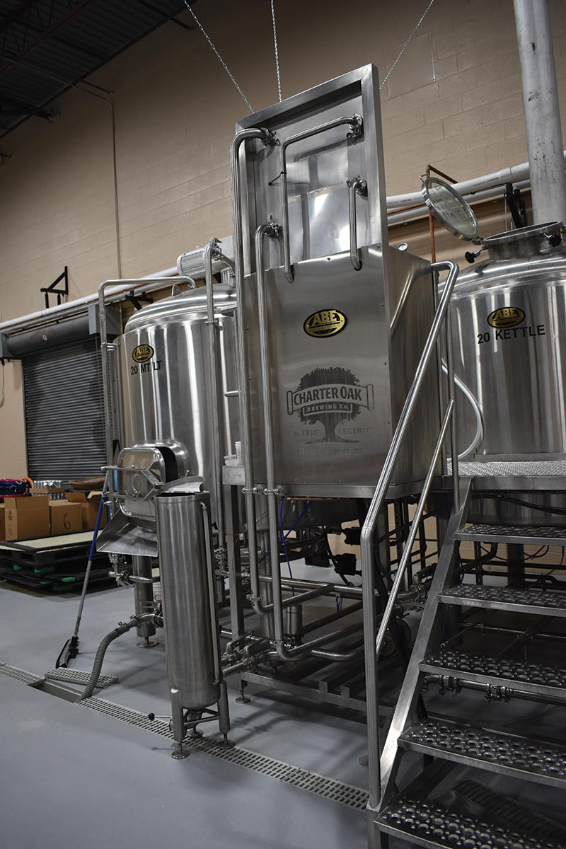 Charter Oak Brewing Hosts Tour of New Danbury Facility