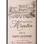 Saint-Estephe Chateau Martin 2012.
