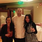 Gemma Paterson, Balvenie Brand Ambassador; Chef Jonathan Harris, Park Central Tavern; and Veronica Saurett, Wine and Spirits Manager, Brescome Barton.