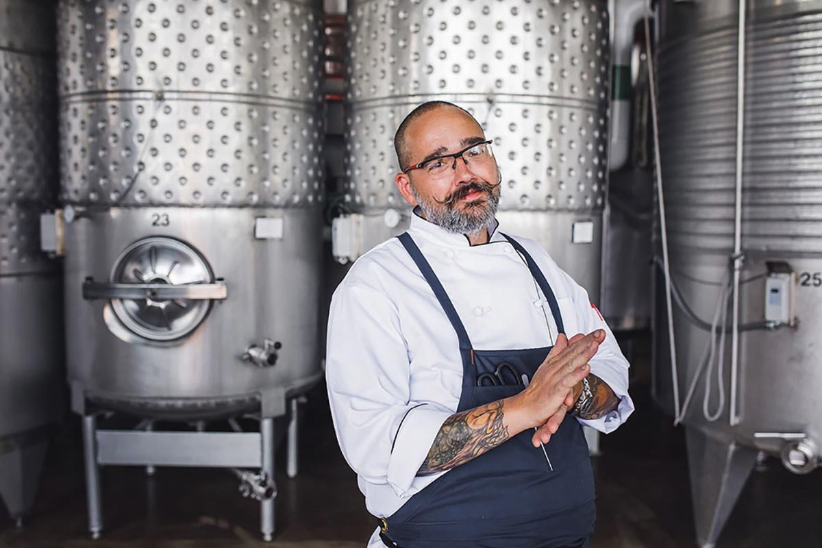 Newport Vineyards Chef Awarded Local Hero Award