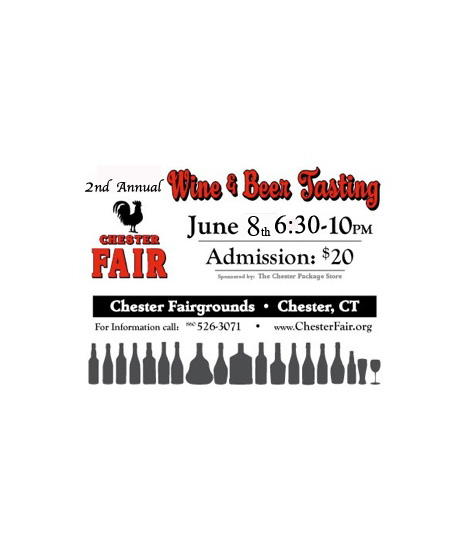 JUNE 8, 2013: Chester Fair Wine & Beer Tasting