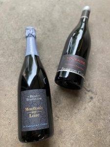 François Chidaine acclaimed wines, Montlouis sur Loire Brut Tradition NV and Touriane Rouge, among them.