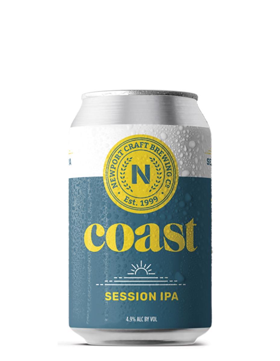 Newport Craft Launches Coast Low-Calorie Pale Ale