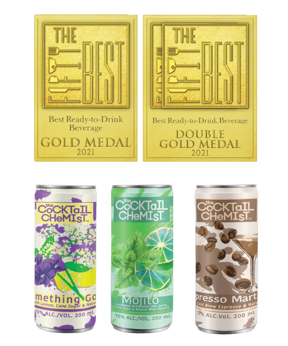 Connecticut's The Cocktail Chemist Canned Brand Wins Accolades
