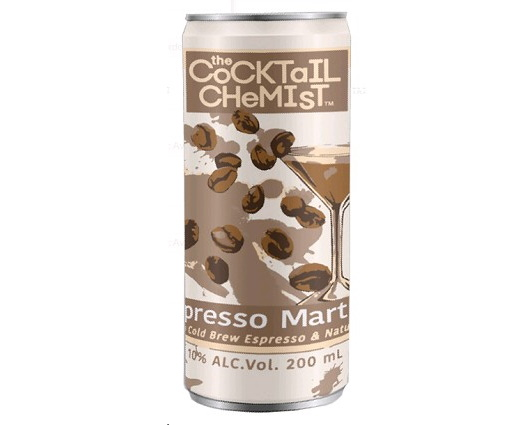 The Cocktail Chemist ready-to-drink canned cocktail line released its latest flavor, Espresso Martini, with an official launch at Parkville Market in Hartford on March 25.