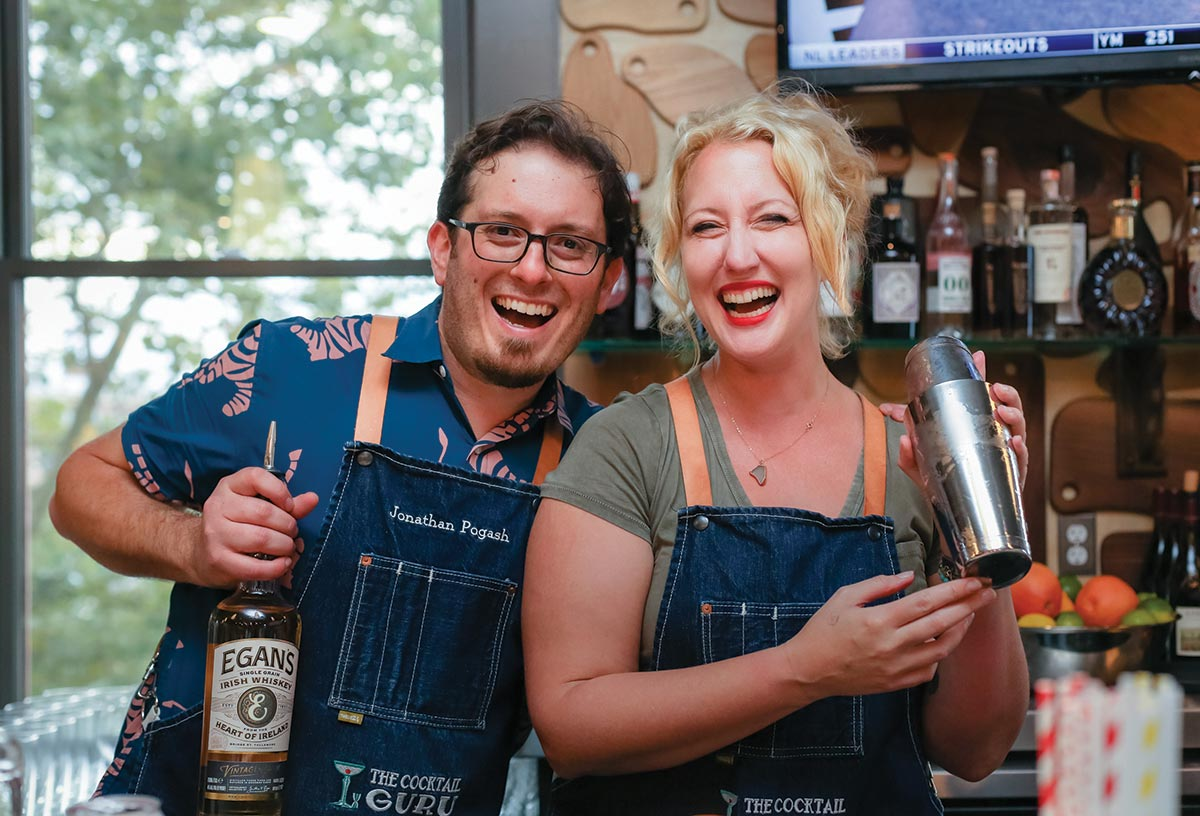 The Cocktail Guru Pops Up for Charity in Newport