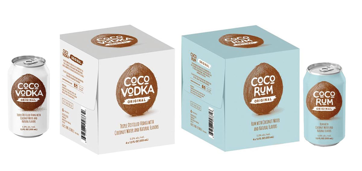 Coconut Water Canned Cocktails New to Rhode Island Market