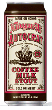 Narragansett Unveils New Autocrat Coffee Milk Stout