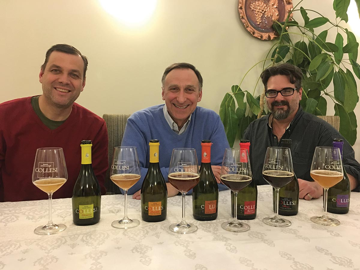 Angelini Wine Launches Collesi Beer