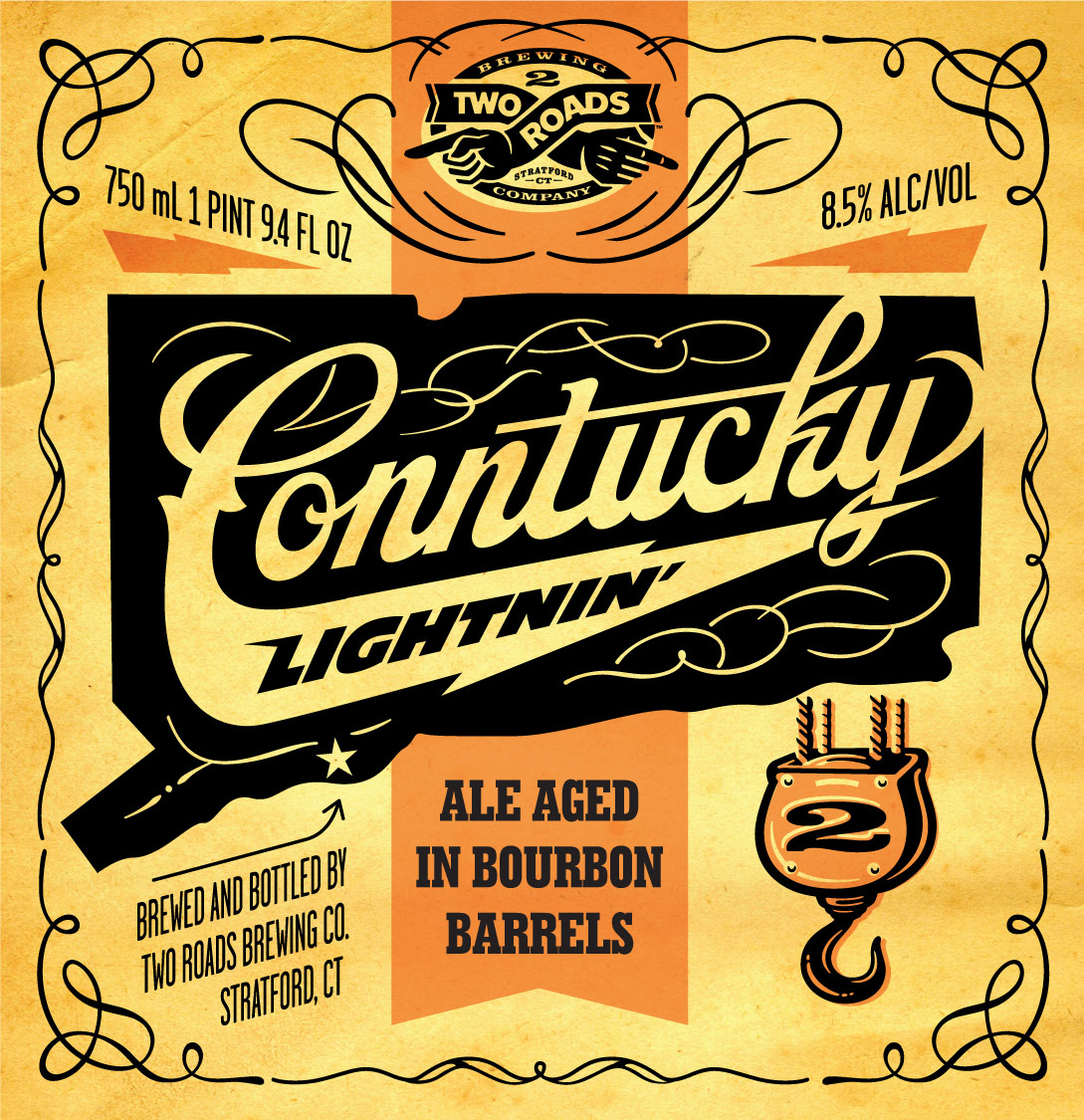 TWO ROADS CONNTUCKY LIGHTNIN' BOURBON ALE ARRIVES ON DERBY DAY