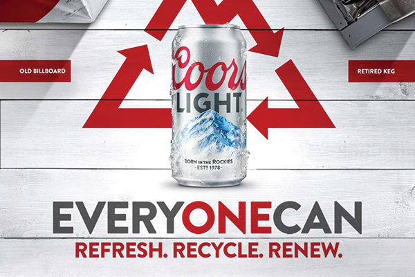 Coors Light Introduces Sustainability Initiative
